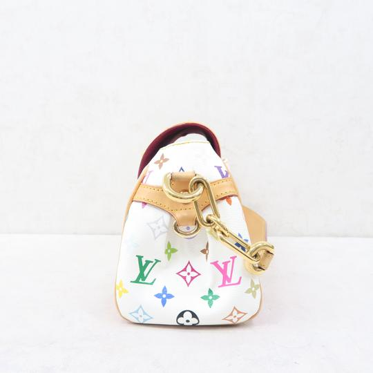 Louis Vuitton Lv Marilyn Multicolor Canvas Tote in White Image 3