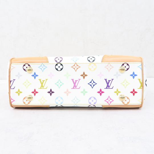 Louis Vuitton Lv Marilyn Multicolor Canvas Tote in White Image 5