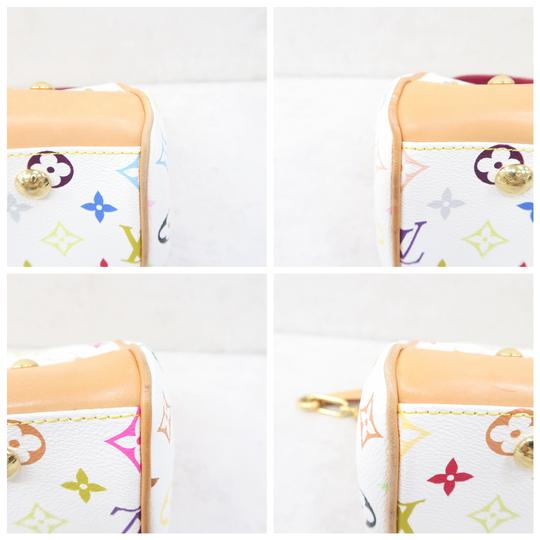 Louis Vuitton Lv Marilyn Multicolor Canvas Tote in White Image 6