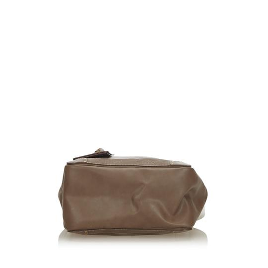 Chloé 9hclto002 Vintage Leather Tote in Brown Image 3