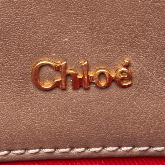 Chloé 9hclto002 Vintage Leather Tote in Brown Image 5
