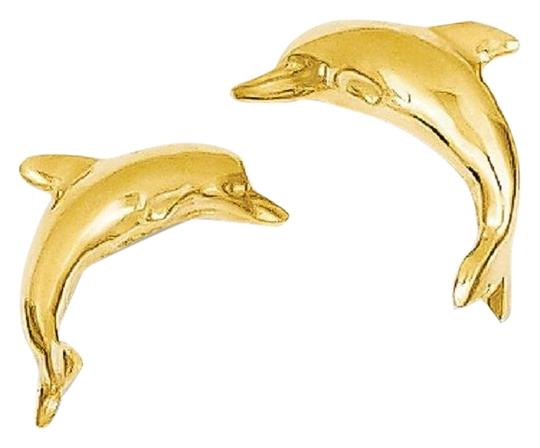 Preload https://img-static.tradesy.com/item/25932509/apples-of-gold-14k-dolphin-stud-earrings-0-1-540-540.jpg