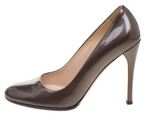 Prada Patent Leather Brown Pumps