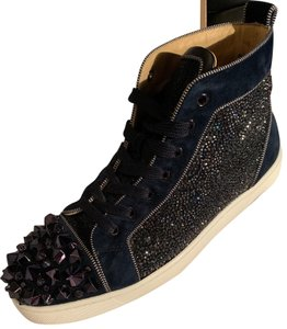 Christian Louboutin Mens Navy Athletic