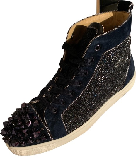 Christian Louboutin Mens Navy Athletic Image 0