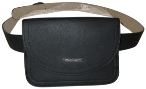 Vince Camuto faux pebbled leather removable pouch