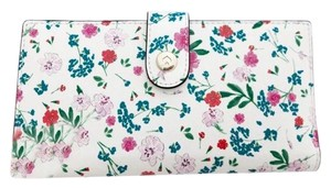 Kate Spade Kate Spade Gardner Street Greenhouse Stacy Bifold Wallet Cream Floral