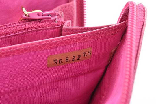 Chanel Chanel Leather Wallet Pink Image 15
