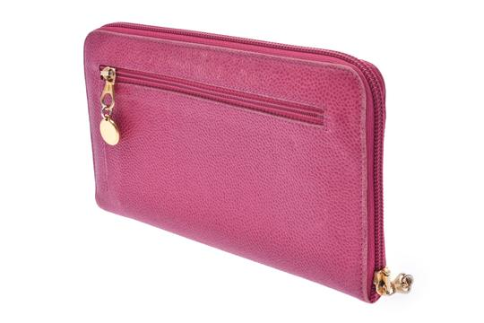 Chanel Chanel Leather Wallet Pink Image 2