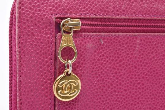 Chanel Chanel Leather Wallet Pink Image 6