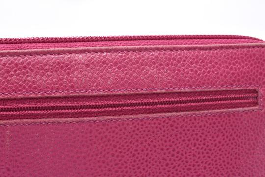 Chanel Chanel Leather Wallet Pink Image 9