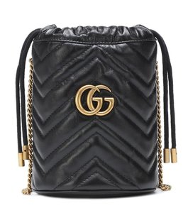Gucci Marmont Gg Leather Cross Body Bag
