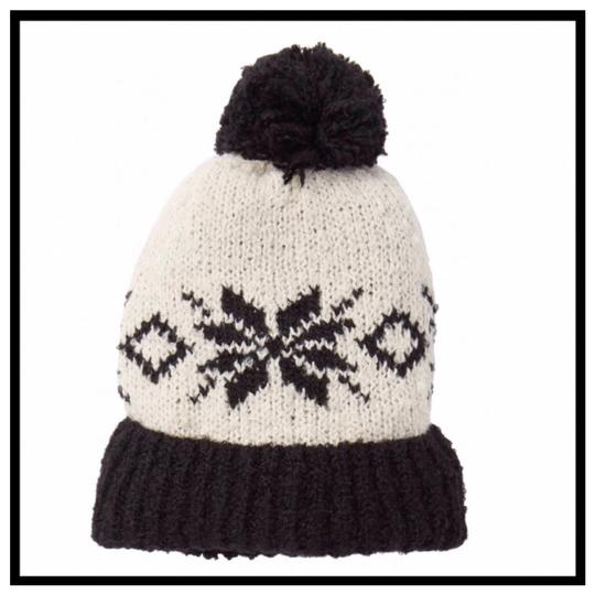Free People FREE PEOPLE COZY LUXE POM POM RIBBED KNIT NORDIC BEANIE HAT Image 4