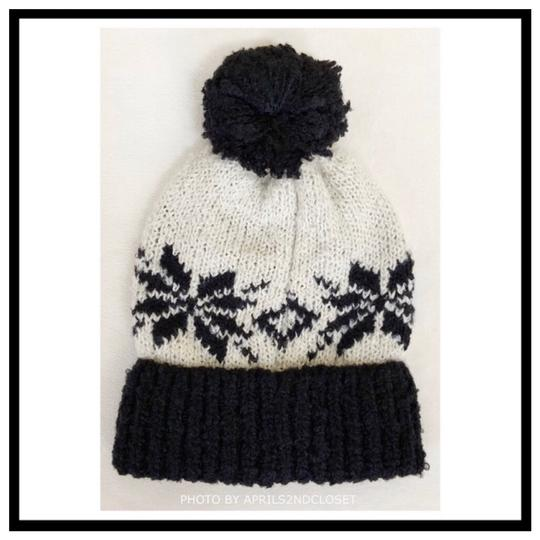 Free People FREE PEOPLE COZY LUXE POM POM RIBBED KNIT NORDIC BEANIE HAT Image 6