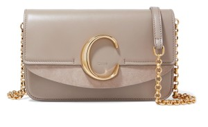 Chloé C Mini Neutral C Cross Body Bag