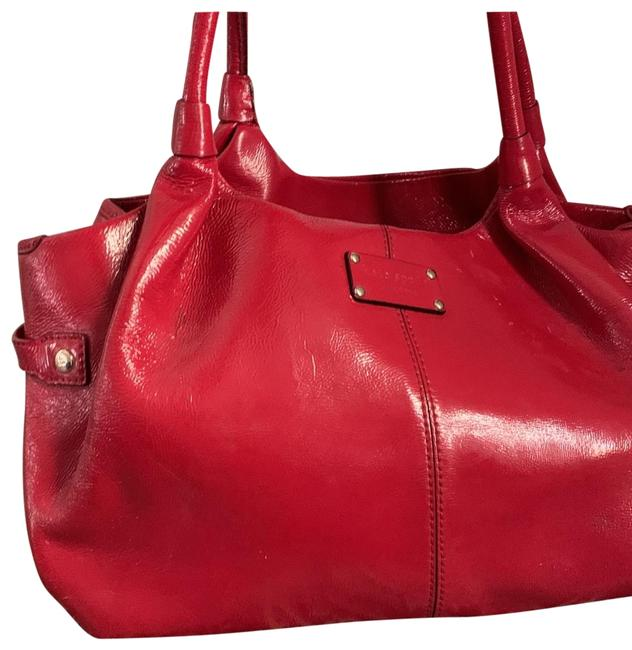 Item - Red Patent Leather Hobo Bag