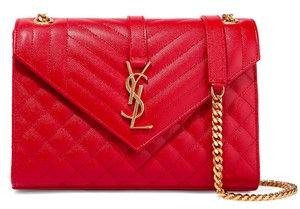 Saint Laurent Ysl Quilted Cross Body Bag