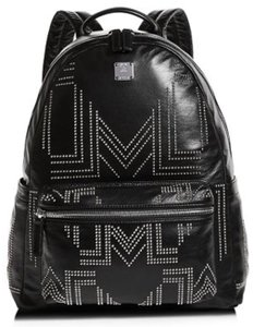 MCM Studded Leather Limited Edition Backpack