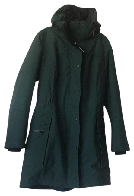 Item - Dark Green XL Kinley Hooded Cinched-waist Parka Coat Size OS (one size)