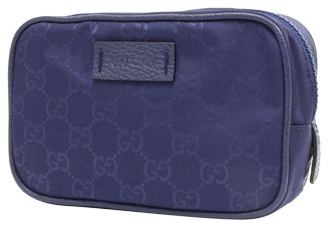 Item - Toiletry Pouch Men's Small Navy Tide 510341 Blue Nylon Weekend/Travel Bag