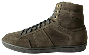 Saint Laurent Italy Sl/10h High Top Haunting Green Athletic