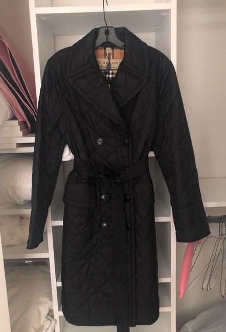 Burberry Quilted Classic Trench Coat Image 3
