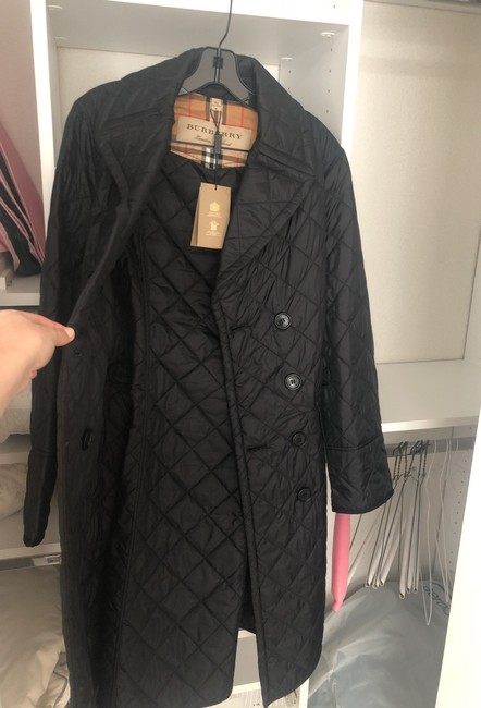 Burberry Quilted Classic Trench Coat Image 4