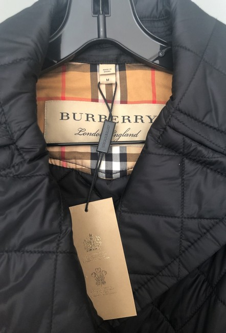 Burberry Quilted Classic Trench Coat Image 6