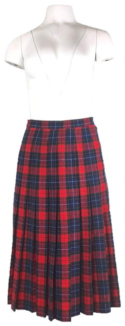 Item - Red Mason Tartan Plaid Skirt Size 0 (XS, 25)