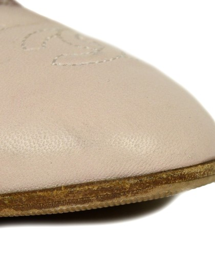 Chanel Quilted Leather Ballet Pink Blush Flats Image 10