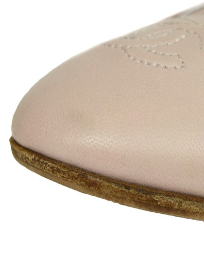 Chanel Quilted Leather Ballet Pink Blush Flats Image 11