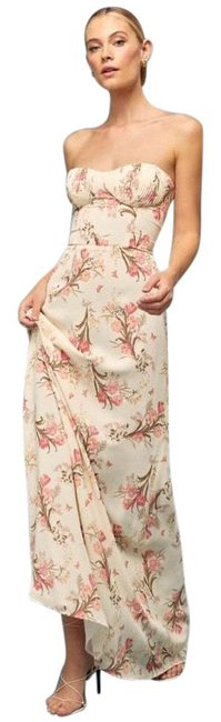 Item - Floral Riesling Long Casual Maxi Dress Size 4 (S)