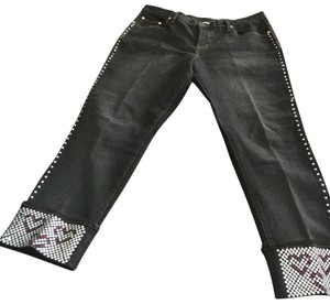 DG2 by Diane Gilman Boot Cut Jeans-Dark Rinse