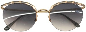 Valentino Valentino Vintage Rounded Wing Sunglasses