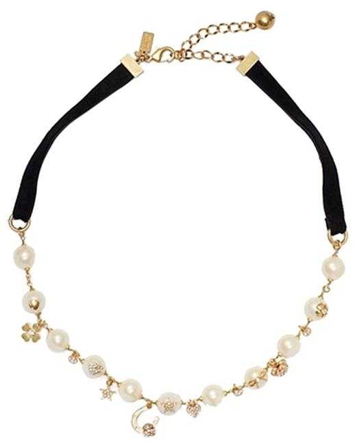 Item - Black/Cream/ Multi Grandmas Closet Short Necklace