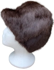 """Other Soft Rabbit Fur Deep Bucket Hat From Germany 20"""" Around"""