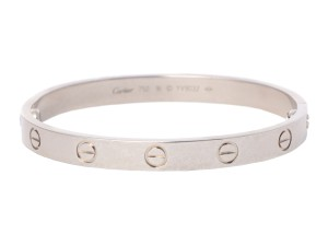 Cartier WHITE GOLD 18K LOVE BRACELET