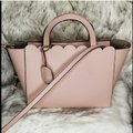 Kate Spade Satchel in Warm Vellum and Metalic Blush