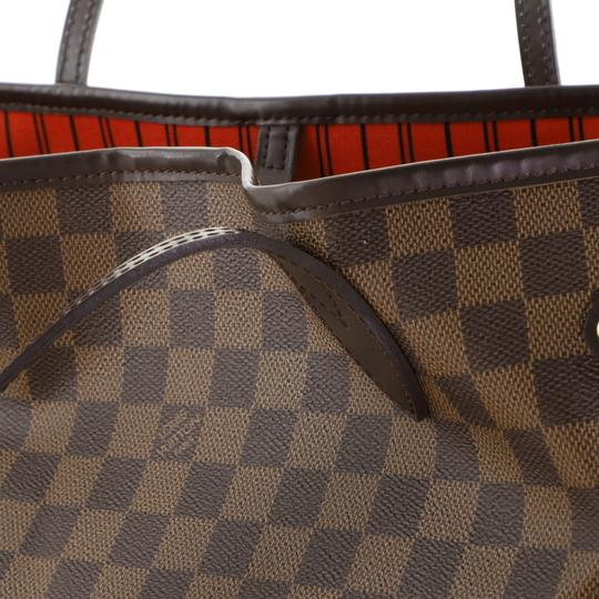 Louis Vuitton Neverfull Tote in brown Image 4