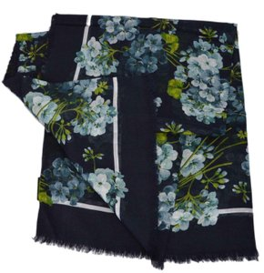 Gucci New Gucci 550905 Silk Modal BLOOMS Scarf