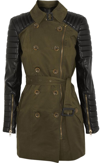 Preload https://img-static.tradesy.com/item/25935970/w118-by-walter-baker-army-green-keanu-quilted-leather-cotton-twill-coat-size-4-s-0-1-650-650.jpg