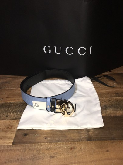 Gucci Gucci Reversible GG Buckle Belt Image 5