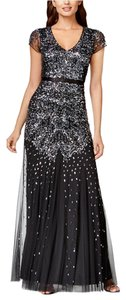 Adrianna Papell Beaded Embellished Gown Dress