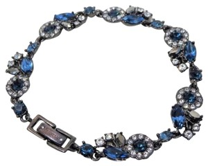 Givenchy Givenchy Sapphire Blue and Diamond Bright Crystal Bracelet