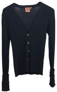 Tory Burch Button Down Gold Buttons Cardigan