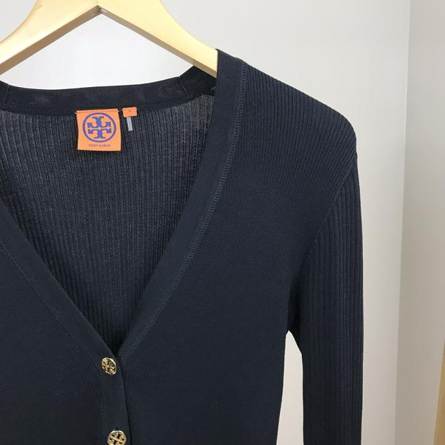 Tory Burch Button Down Gold Buttons Cardigan Image 1