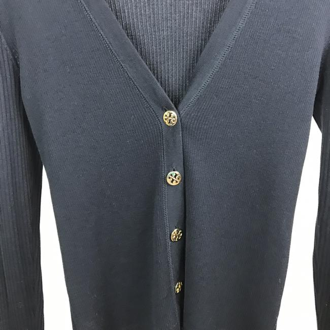 Tory Burch Button Down Gold Buttons Cardigan Image 2