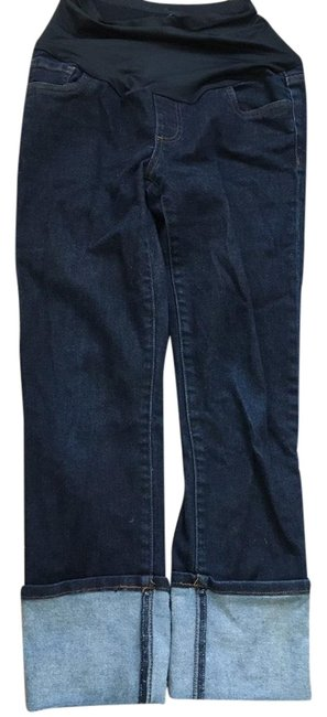 KUT from the Kloth Cropped Maternity Denim Size 2 (XS) KUT from the Kloth Cropped Maternity Denim Size 2 (XS) Image 1