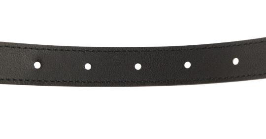 Gucci Gucci Skinny Leather Belt with Double G Buckle Image 7