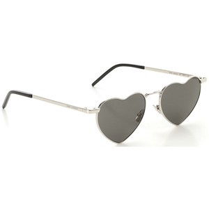 Saint Laurent NEW SAINT LAURENT NEW WAVE SL 301-001 SILVER/GREY LOULOU SUNGLASSES